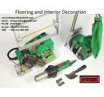 Las Plastik Leister Dalam Aplikasi Pemasangan Lantai dan Interior