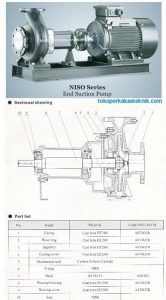 NISO Pump Sectional Drawing