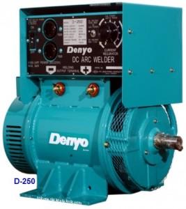 Las Dinamo Denyo D-250