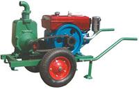 Pompa Irigasi Diesel Dengan Roda